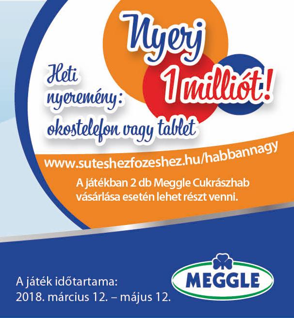 Nyerj a Meggle-vel!