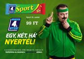 Sport szelet - Minden 4. Nyer!