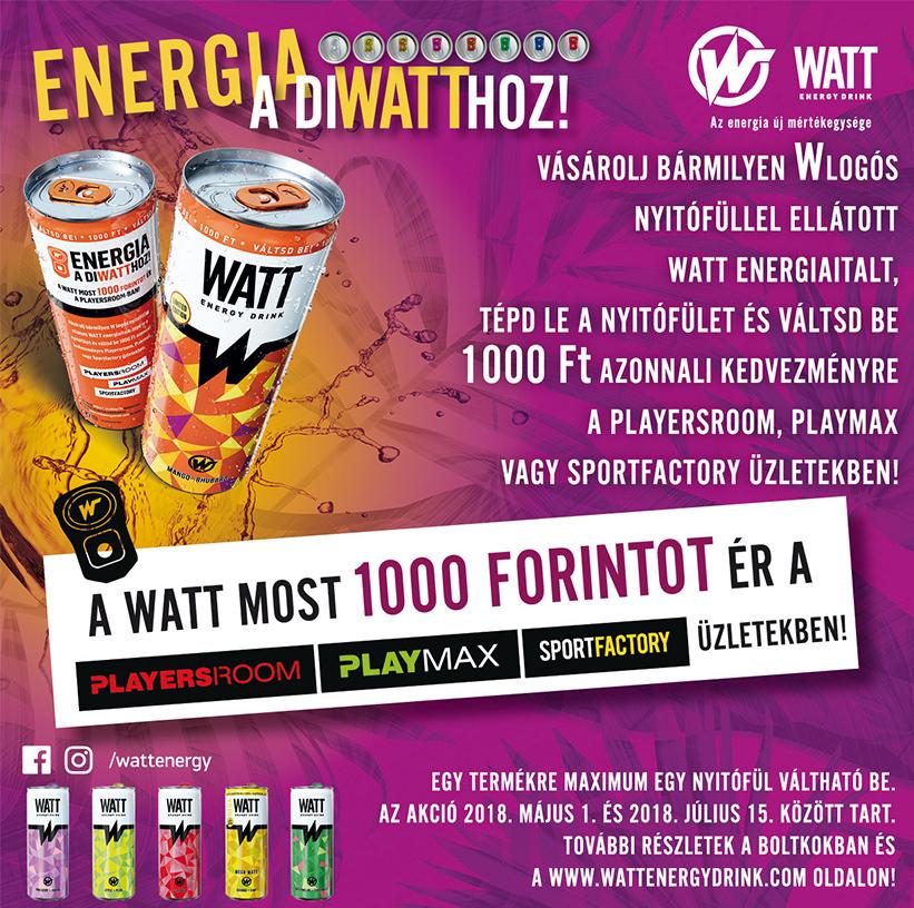Energia a diWATThoz!