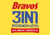 Bravos 3in1 Nyereményjáték